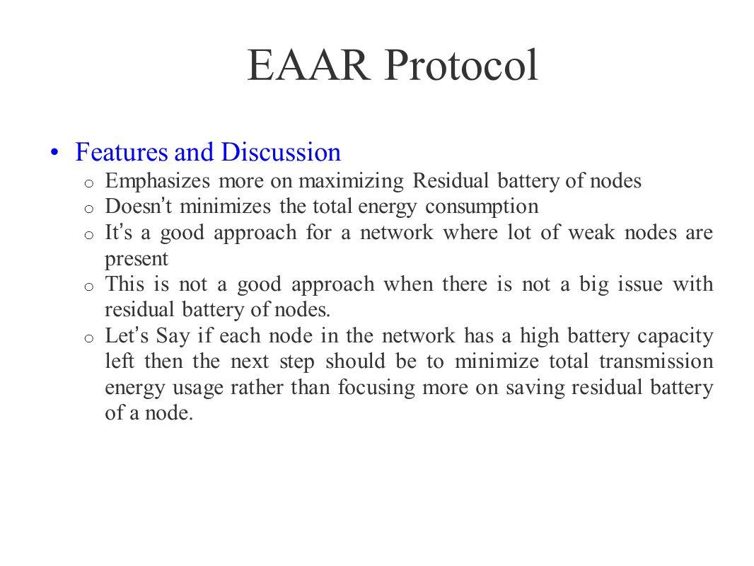 Protocol by Dhurandher et al.