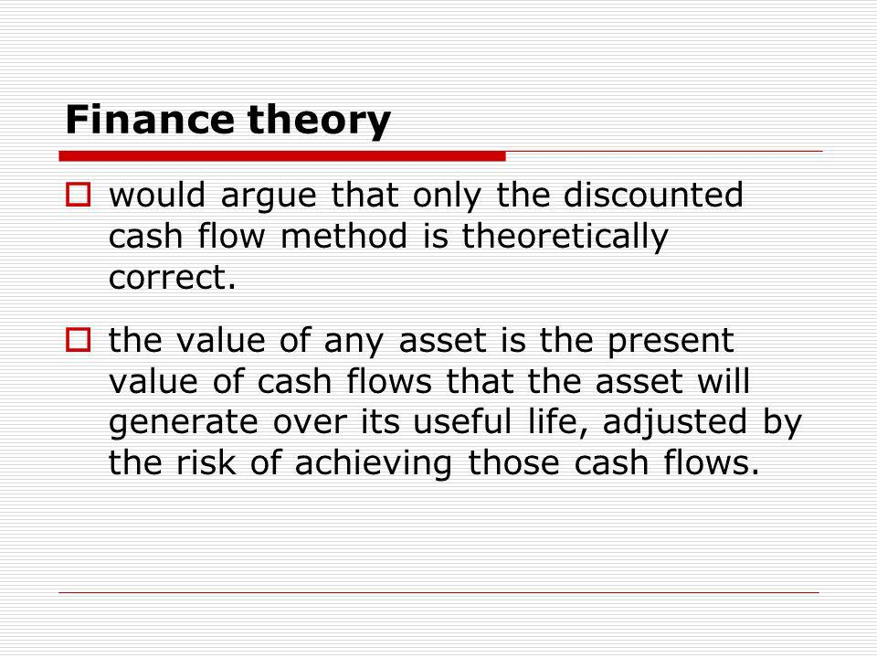 The problem for new ventures is that the information that provides the basis for the free cash flow estimates is generally so speculative that the more sophisticated DCF method may not be perceived as worth the effort it takes to generate a value.