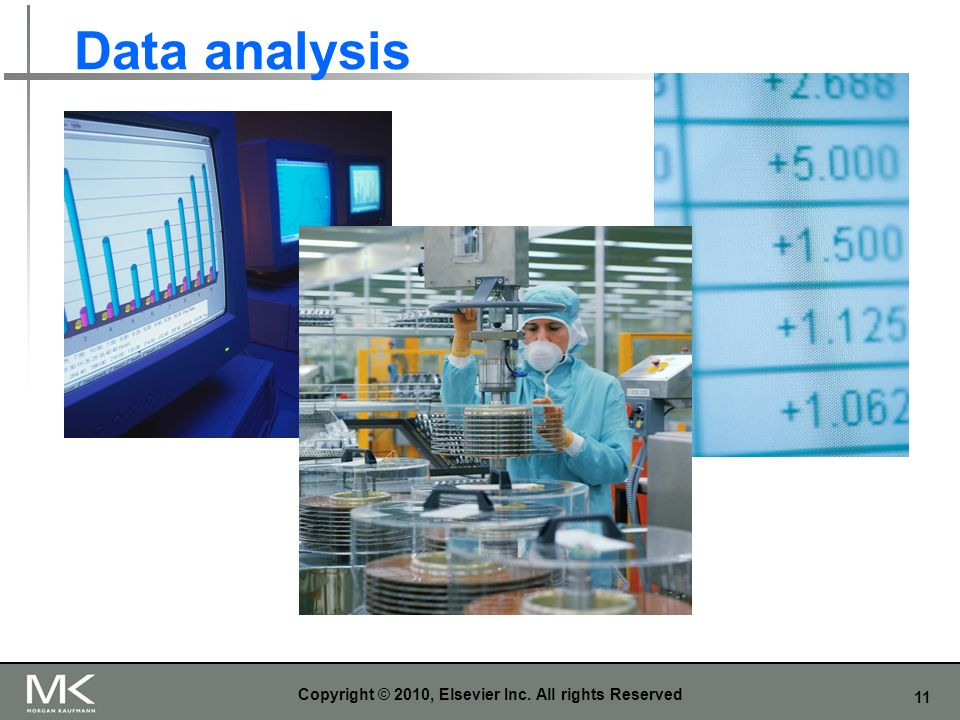 11 Data analysis Copyright © 2010, Elsevier Inc. All rights Reserved