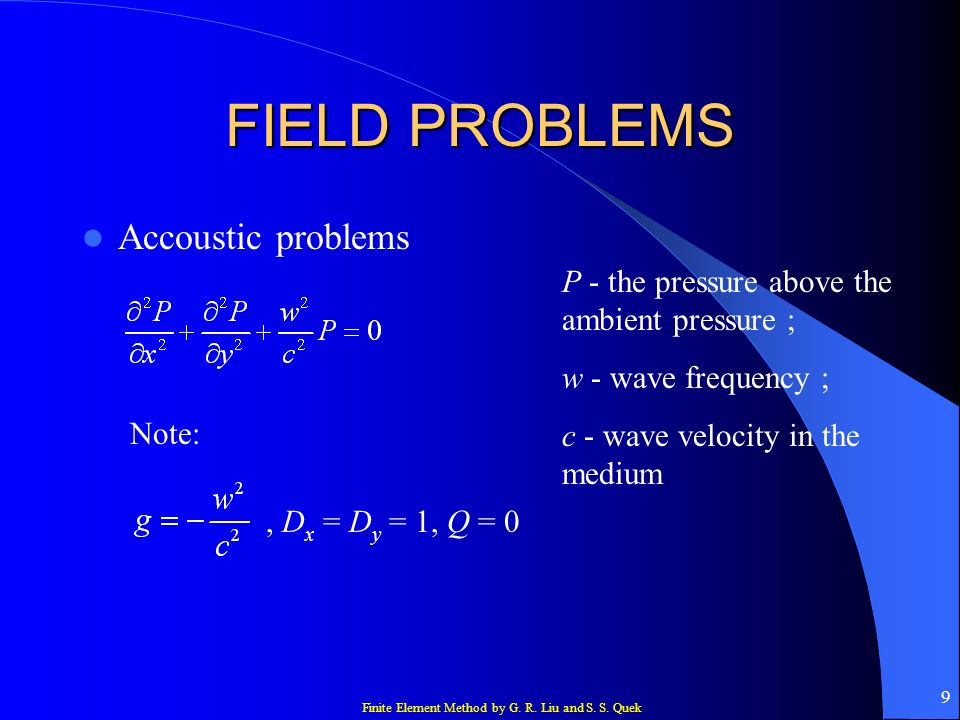 Finite Element Method by G. R. Liu and S. S. Quek 40 Element equations 2 nd integral: Therefore,