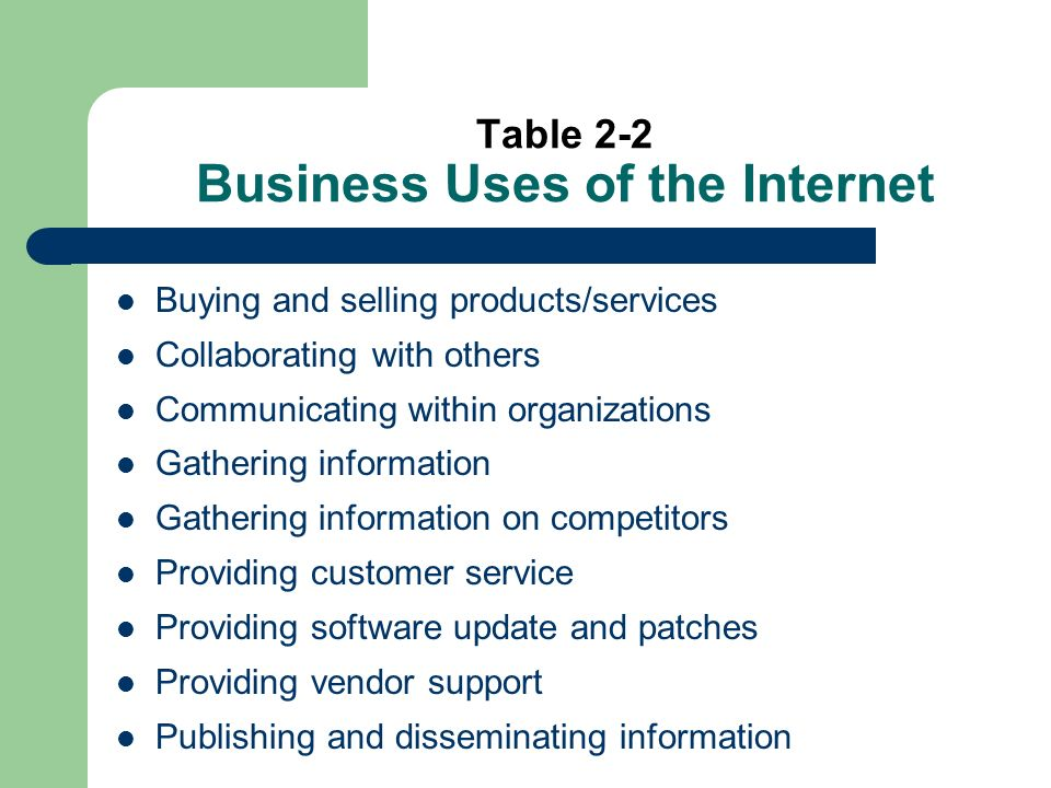 Table 4-9 (cont) US West Utilizes its Global Village intranets to streamline document distribution by sending e-mails and to integrate with a mainframe system to determine when new telephone facilities will be available.