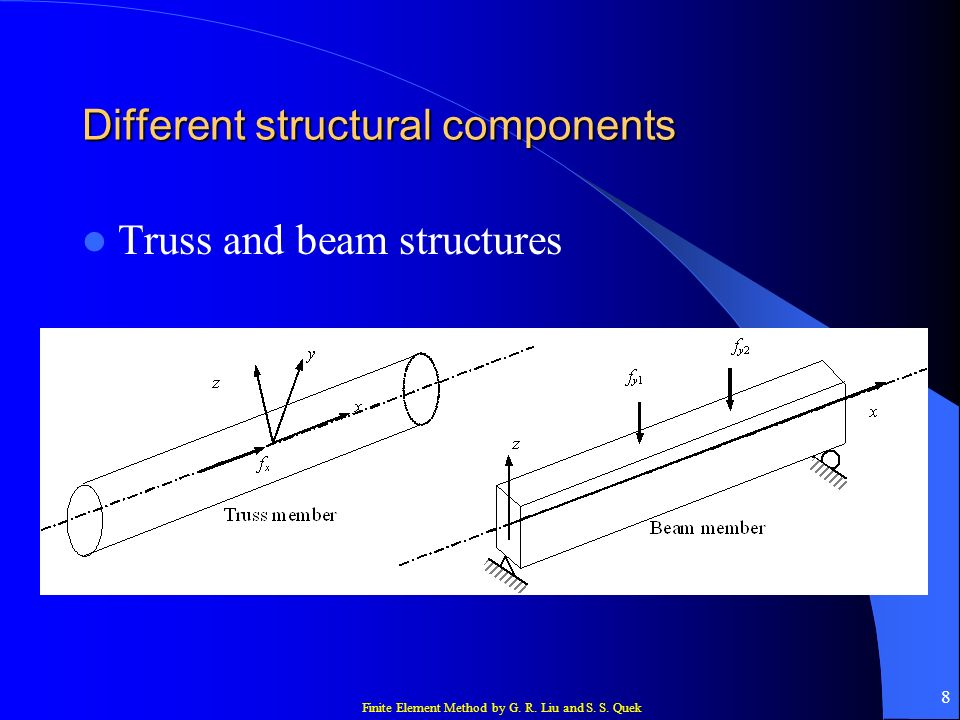 Finite Element Method by G. R. Liu and S. S. Quek 29 Stress and strain Euler–Bernoulli theory