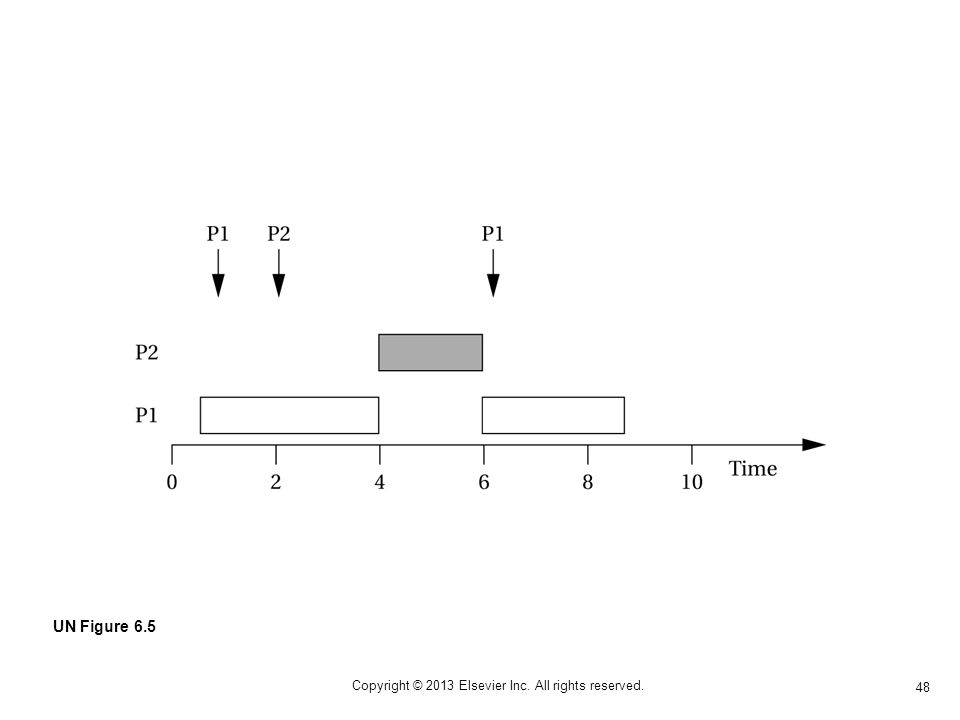 48 Copyright © 2013 Elsevier Inc. All rights reserved. UN Figure 6.5