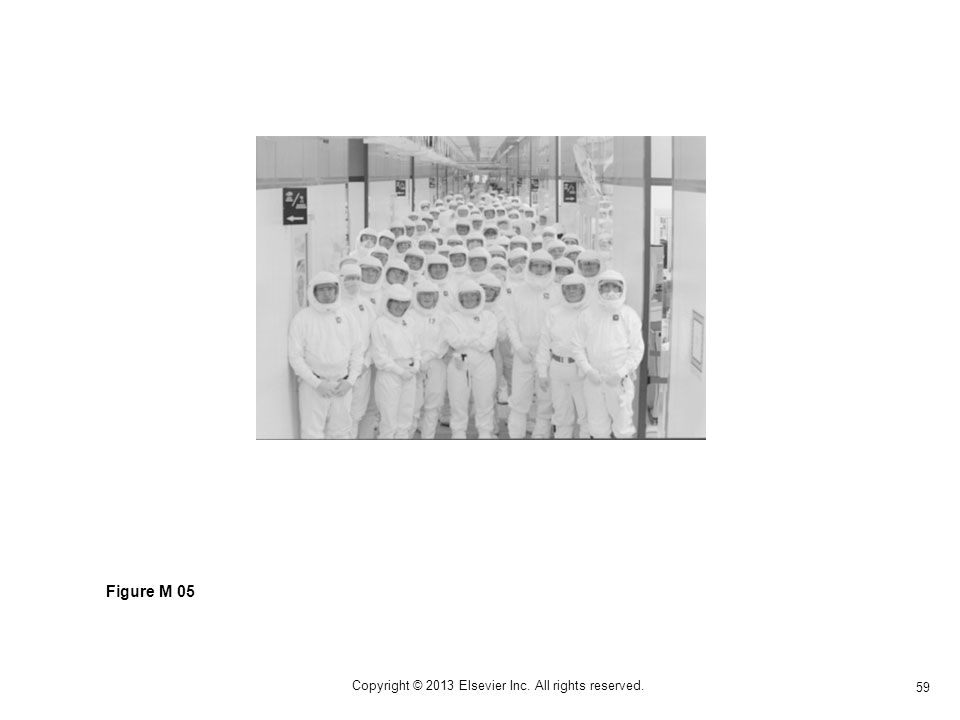 59 Copyright © 2013 Elsevier Inc. All rights reserved. Figure M 05