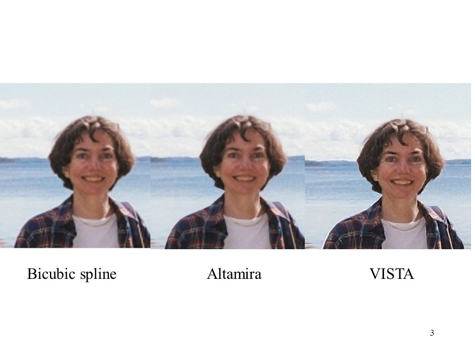 3 Bicubic splineAltamiraVISTA