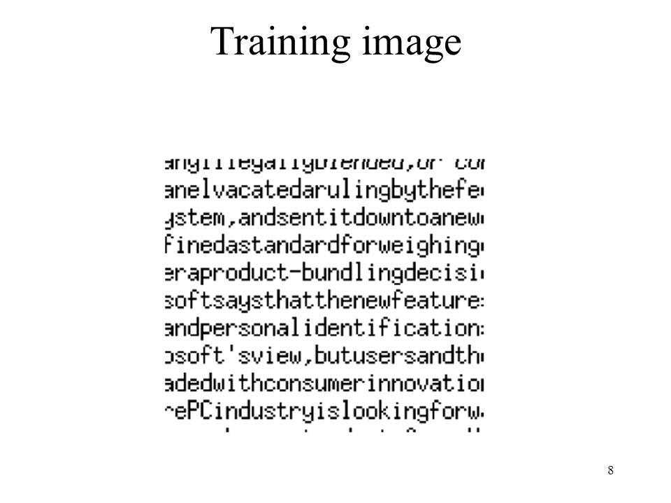 8 Training image