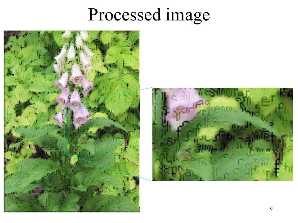 9 Processed image