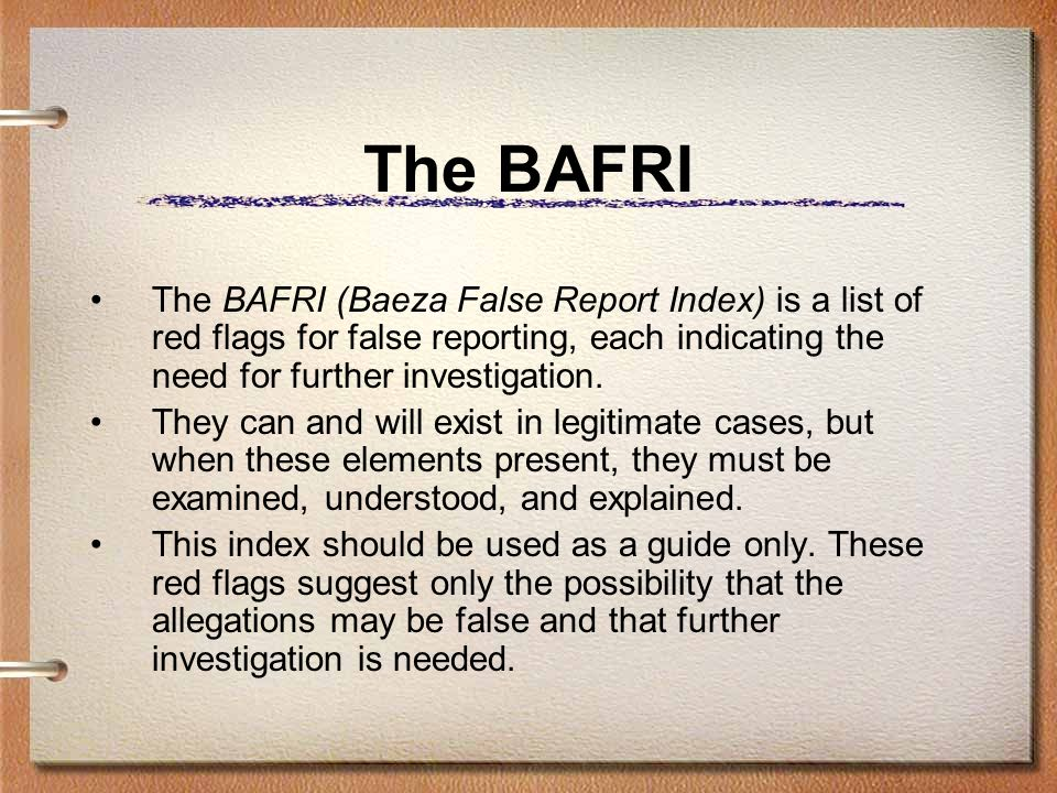 The BAFRI 1.A female victim has demanded to speak with a female officer of investigator.