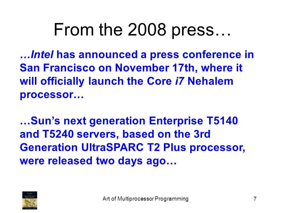 98 To post a message W 4 A 1 S 1 H 4 A 1 C 3 R 1 T 1 H 4 E 1 whew Art of Multiprocessor Programming