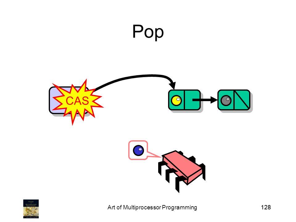 Art of Multiprocessor Programming128 Pop Top CAS