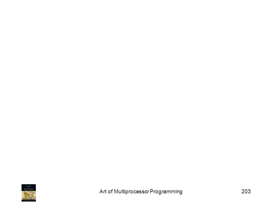 Art of Multiprocessor Programming203