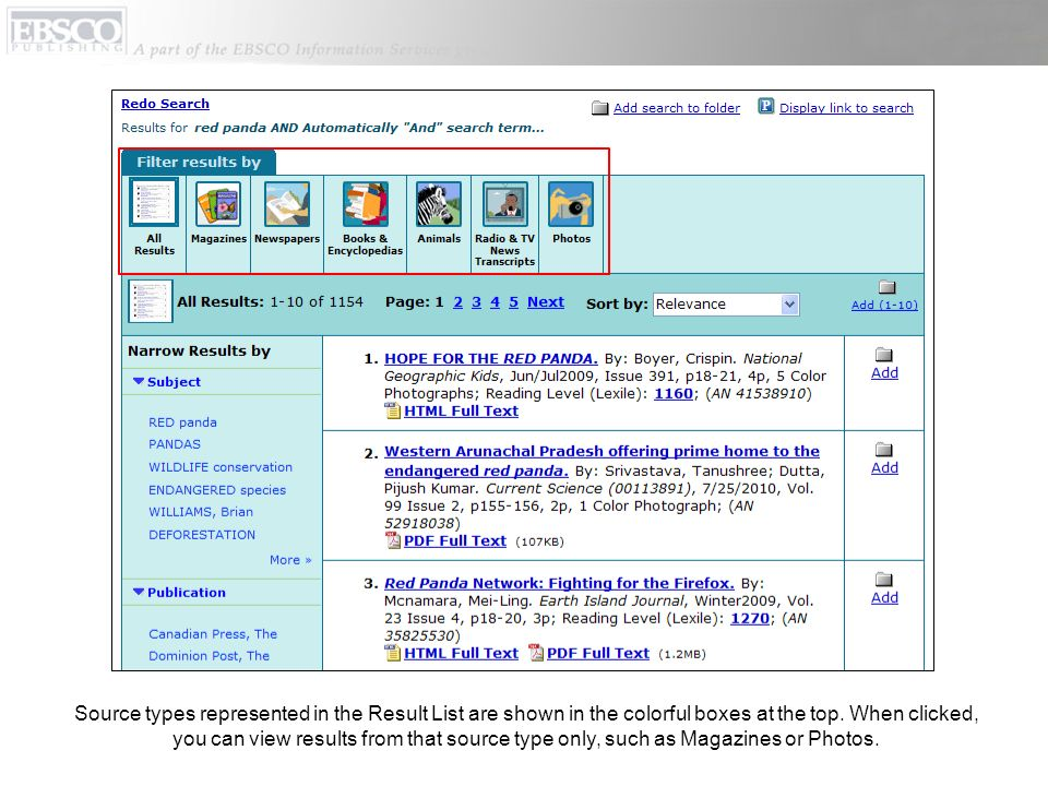 The Detailed Search screen includes the Search By Topic list.