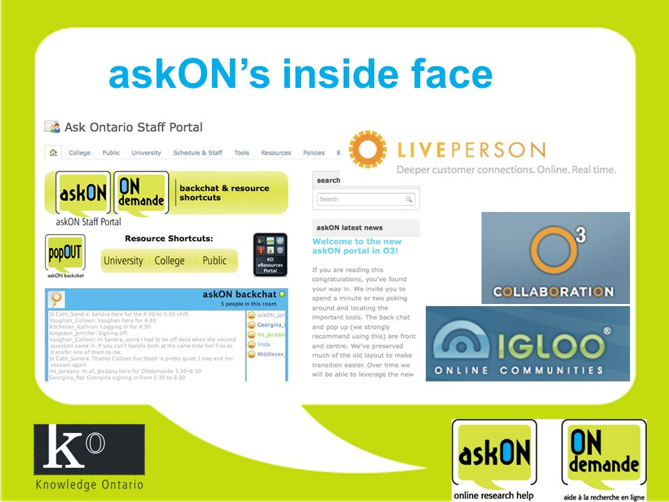 askONs inside face