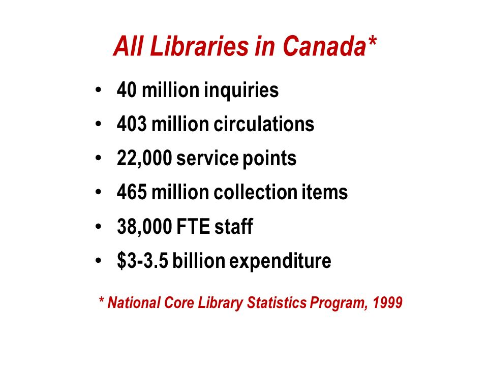 Librarianship isn t about gate count and circulation figures, but people helped, lives enriched, and communities improved.