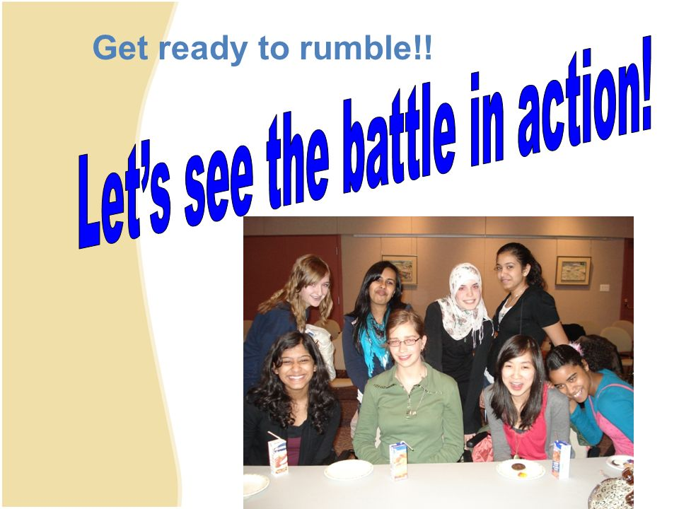 Get ready to rumble!!