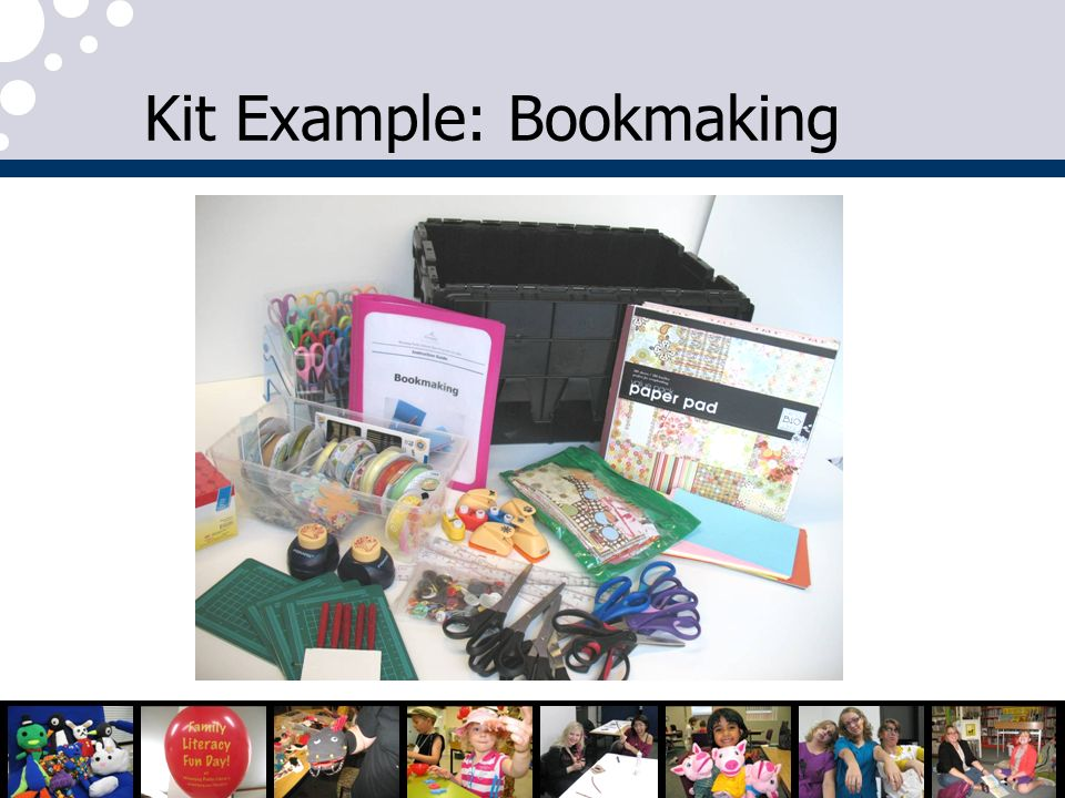 Kit Example: Bookmaking