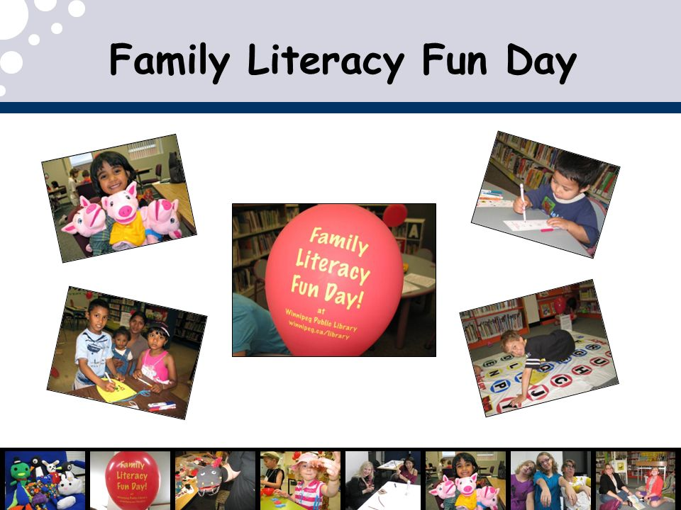 Family Literacy Fun Day