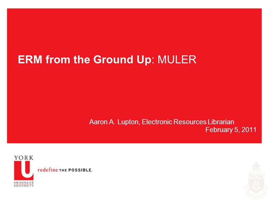MULER - Statistics