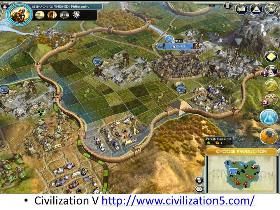 Civilization V http://www.civilization5.com/http://www.civilization5.com/