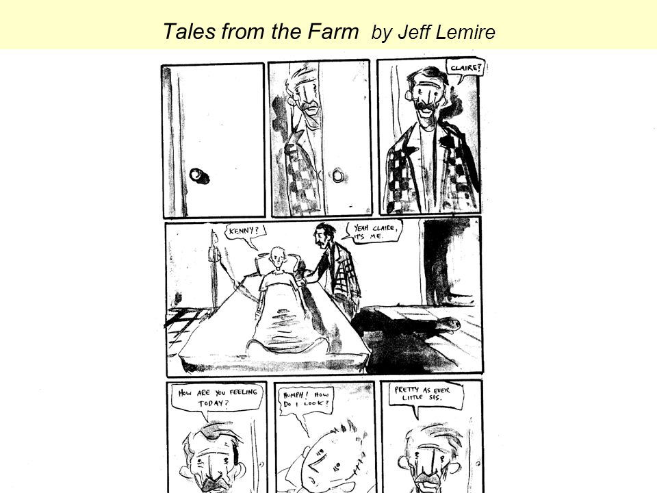 Tales from the Farm by Jeff Lemire
