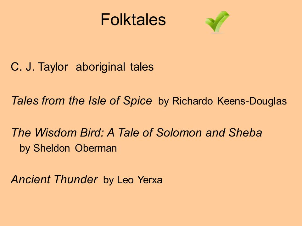 Folktales C. J.