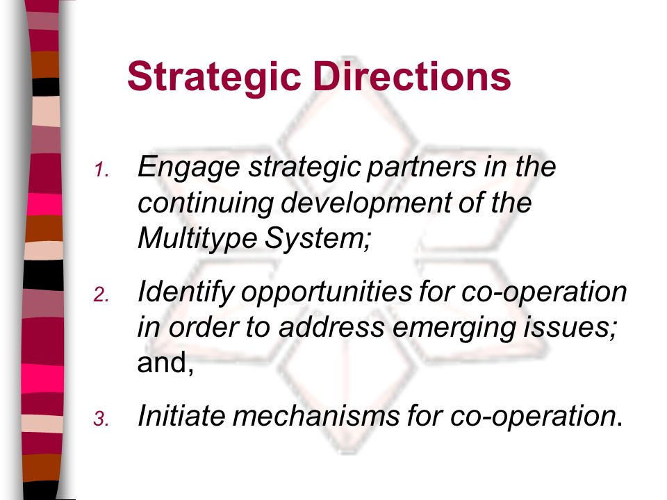 Strategic Directions 1.