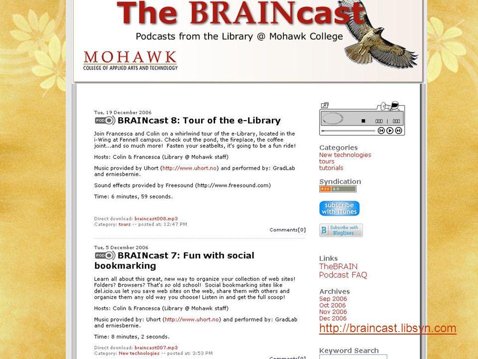 http://braincast.libsyn.com