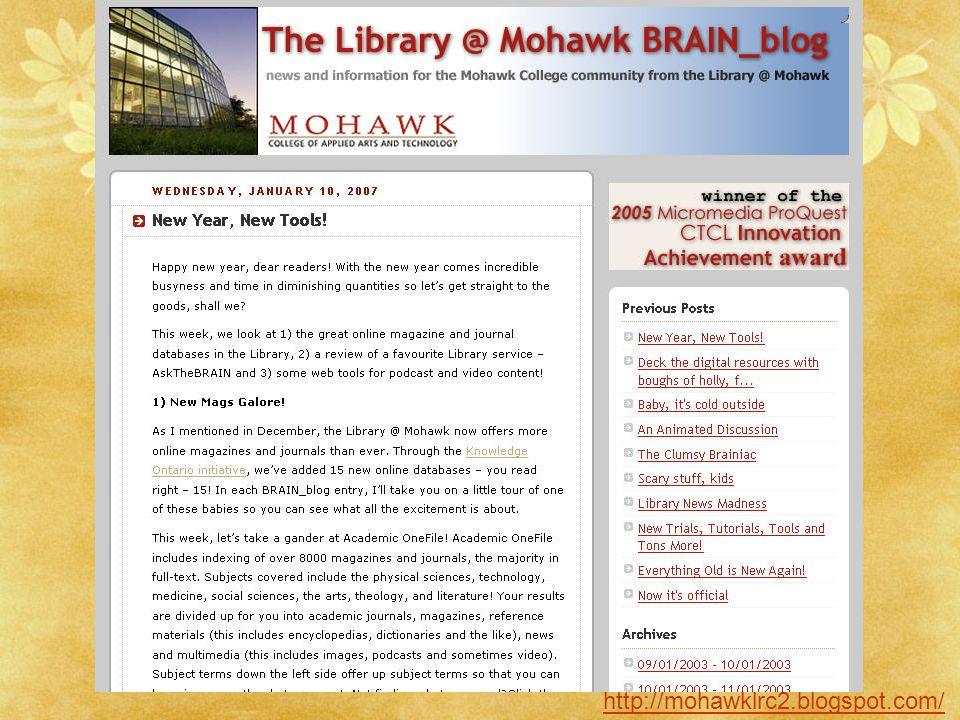 http://mohawklrc2.blogspot.com/