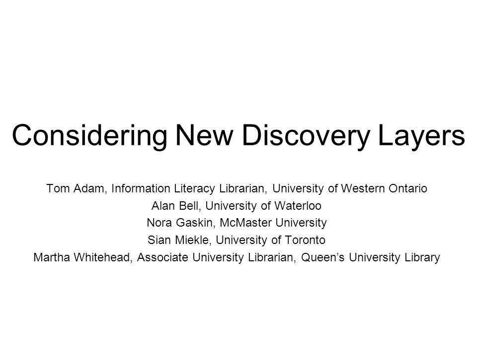 Sian Miekle University of Toronto