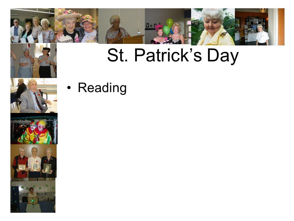 St. Patricks Day Reading