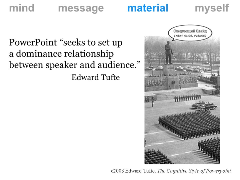 Why do we use PowerPoint?