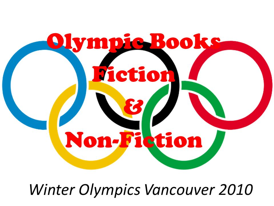Winter Olympics Vancouver 2010 Olympic Books Fiction & Non-Fiction
