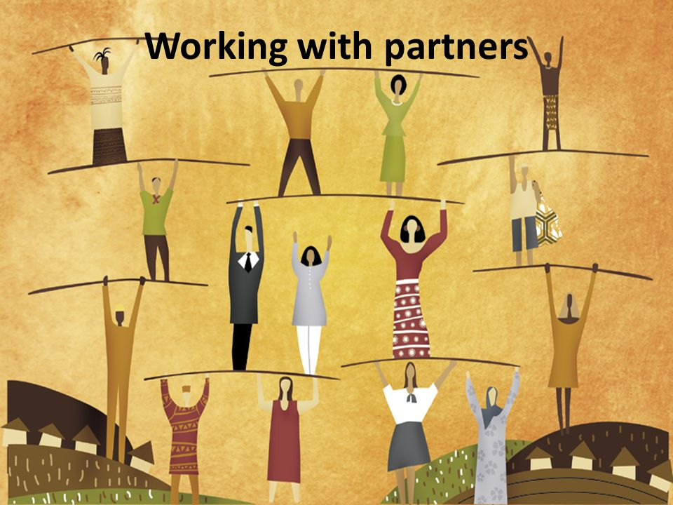 Working with partners