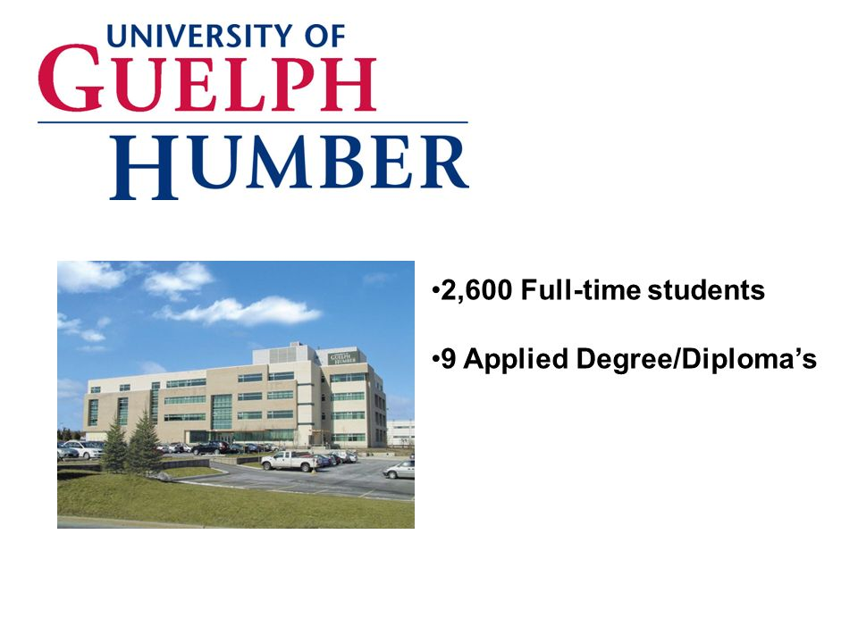 aaaaa 2,600 Full-time students 9 Applied Degree/Diplomas