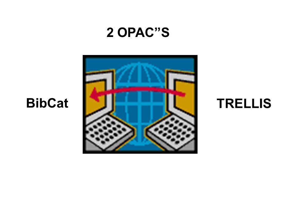 2 OPACS BibCat TRELLIS
