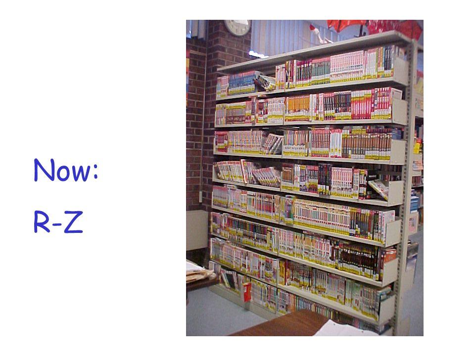 Now: R-Z