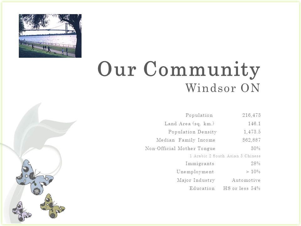 Benefits for our Community