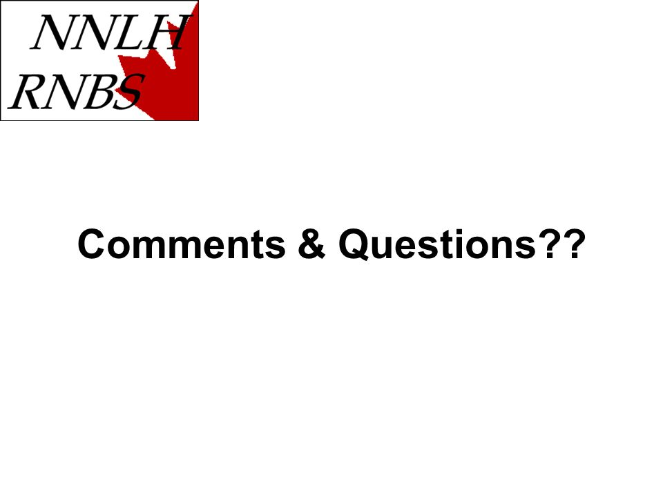 Comments & Questions