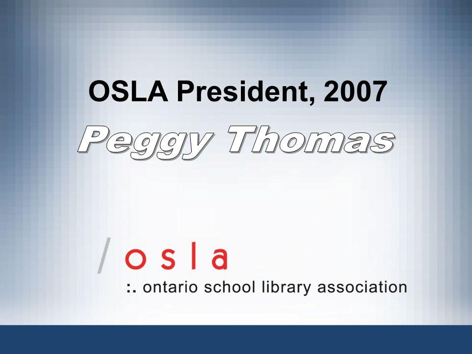 OSLA President, 2007