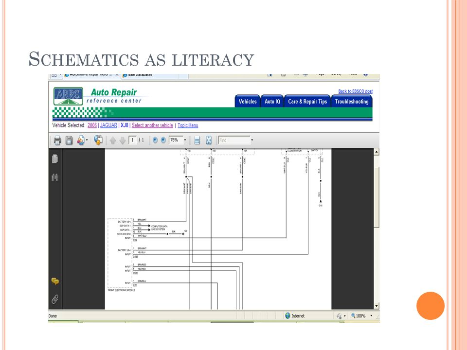 S CHEMATICS AS LITERACY