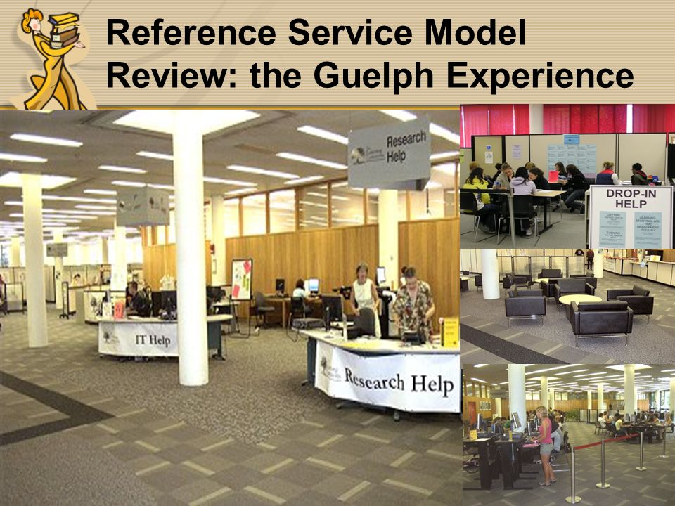 Burpee/McDonald OLA2006 Reference Service Model Review: the Guelph Experience
