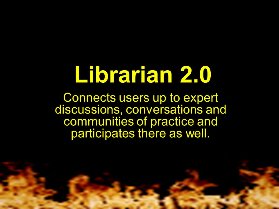 Librarian 2.0 Sees the potential in using content sources like the Open Content Alliance, Google Print and OpenWorldCat.