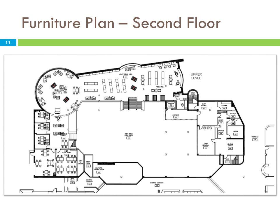 Furniture Plan – Second Floor 11