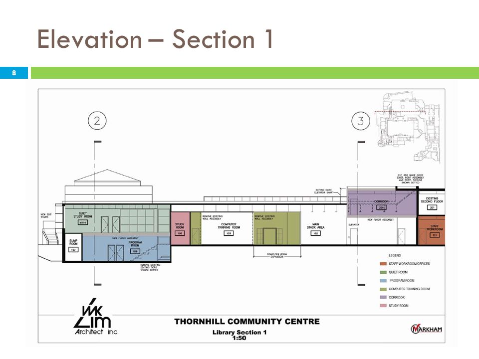 Elevation – Section 1 8