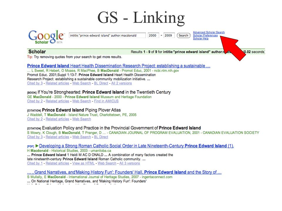 GS - Linking