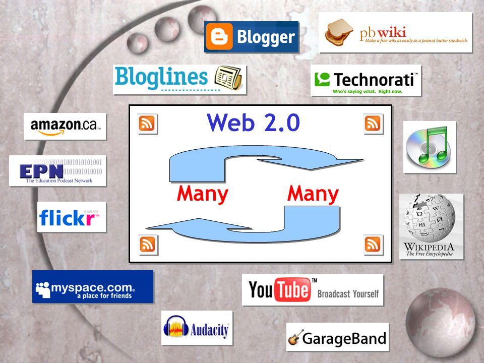 Web 2.0 Many