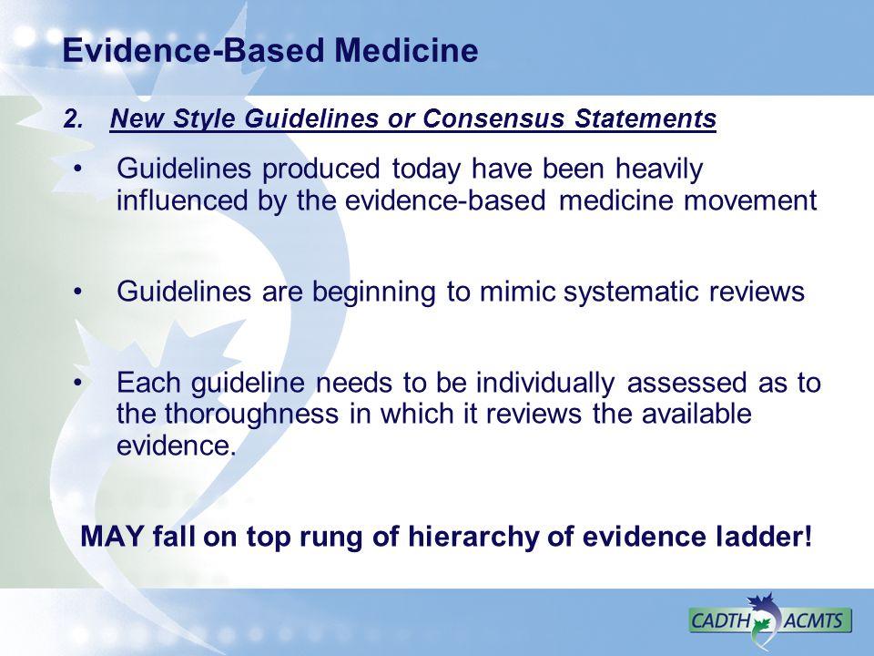 Evidence-Based Medicine 2.
