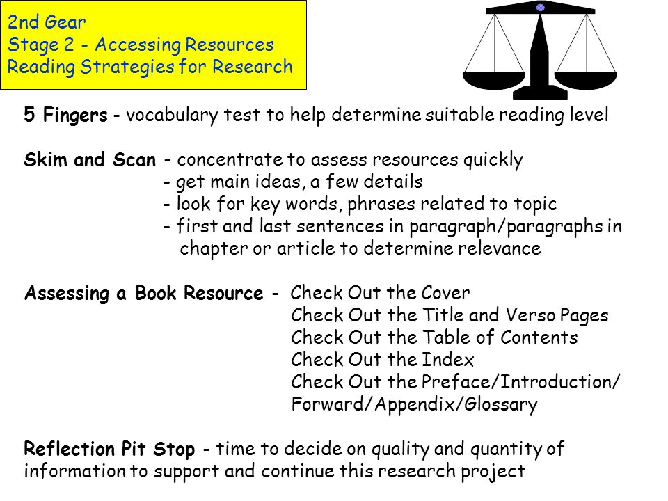 2nd Gear Stage 2 - Accessing Resources Reading Response Reading Response - Gears Teacher Tip 3 Rs Framework for Reading Response (Schwartz, Bone) Rete