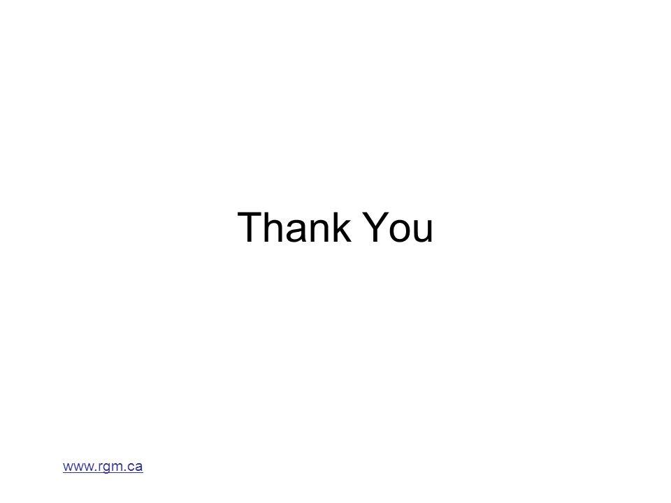 www.rgm.ca Thank You