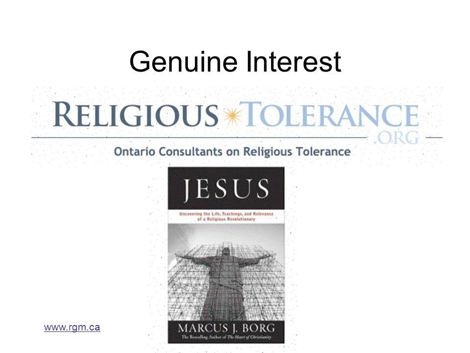 www.rgm.ca Genuine Interest